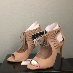 DOLCE VITA SUEDE HEELED BOOTIES